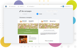 Visuel ma communication - campagne emails